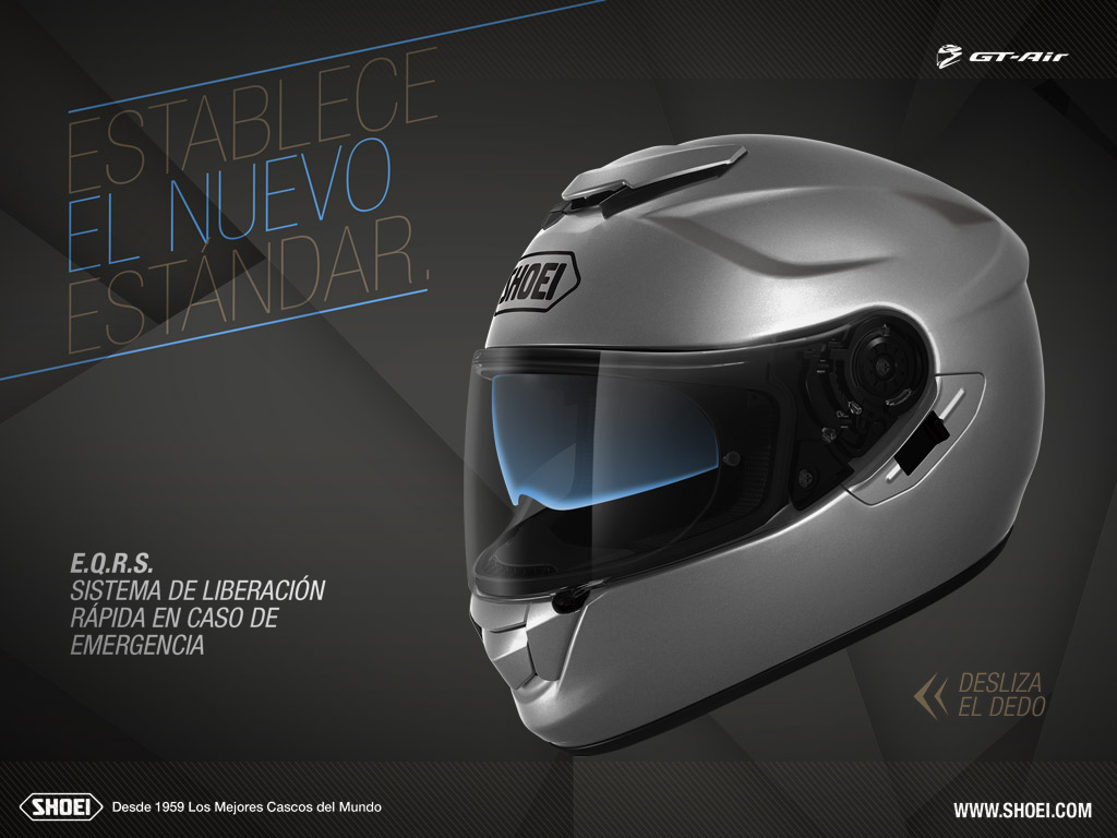 Shoei GT-Air Interactive advert